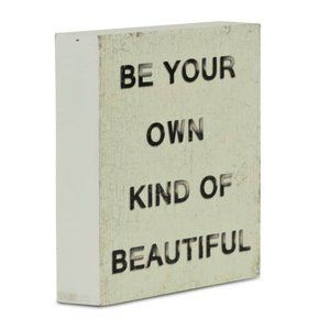 Be your own Kind setting decor
